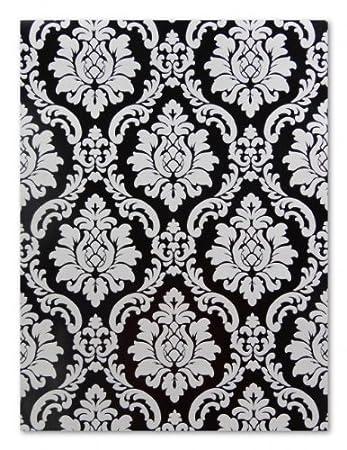 Tapete weiß schwarz  Barock Tapete 08521-40 schwarz-weiß Barock: Amazon.de: Baumarkt