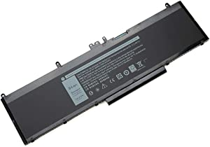 Tandirect New WJ5R2 84Wh Replacement Laptop Battery Compatible with dell Precision 3510 M3510 Notebook 4F5YV Series 11.4V