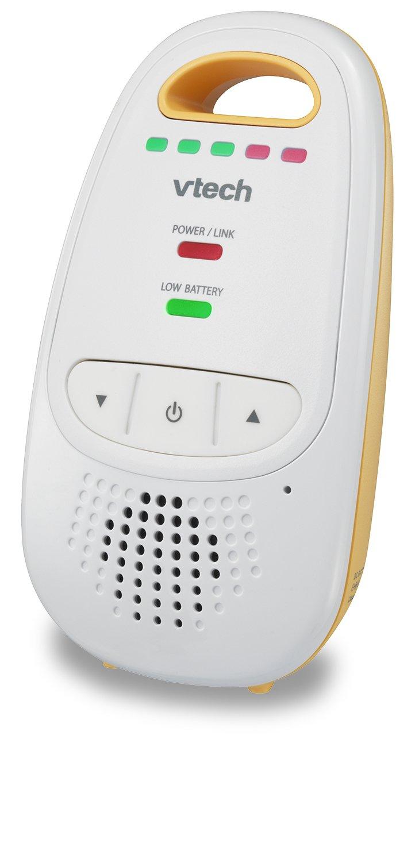 VTech DM111 Audio Baby Monitor with up to 1,000 ft of Range, 5-Level Sound Indicator, Digitized Transmission & Belt Clip by VTech (Image #11)
