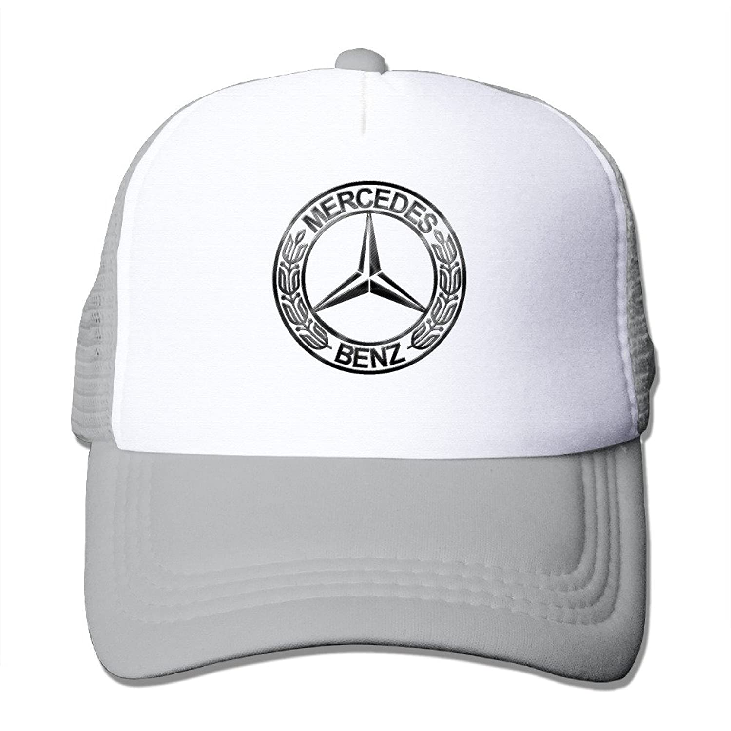 WuliNN Mercedes-benz Logo Mesh Trucker Hat Outdoor Adjustable Baseball Cap For Unisex