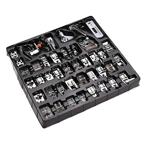 Piezas de Prensatelas para Máquinas de Coser, Accesorios de Máquina de Coser Caseros Prácticos Profesional