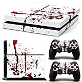 Cheap NDAD Skin Decal Stickers Covers for Sony PS4 Red White