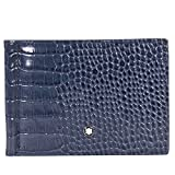 Montblanc Meisterstuck 6CC Leather Wallet - Indigo