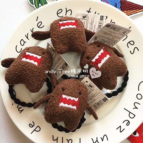 Price comparison product image Super cute Domo kun hair rope plush hair rope hair ring hair accessories hair rope Funny sell Meng for women girl lady