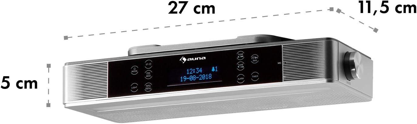 auna KR-140 Radio de Cocina Bluetooth: Amazon.es: Electrónica