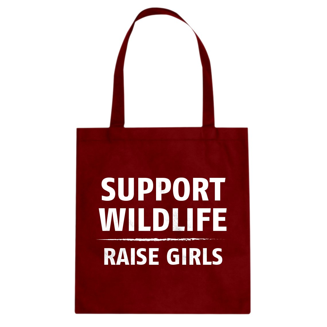 Indica Plateau Support Wildlife Raise Girls Cotton Canvas Tote Bag