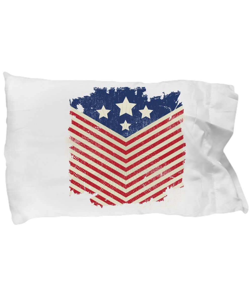 Funny Novelty Gift For 4th of July American Flag Best Fourth of July, Independence, Day, America, USA, US Pillow Case