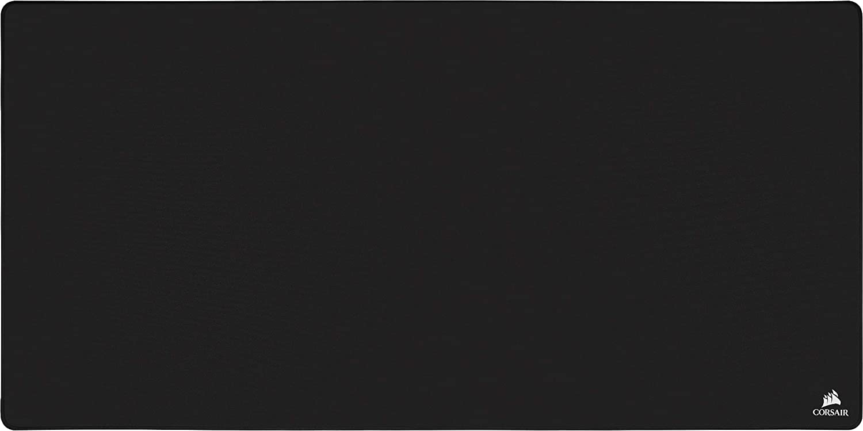 Corsair MM500 Ampliado 3XL Alfombrilla para Juegos, 122cm x 61cm de Superficie, Tela Antidesgaste y Base de Goma Texturizada Antideslizante, Optimizada para Ratones para Juegos, Color Negro