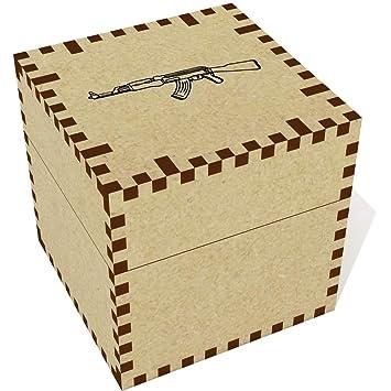 Azeeda Medio (57mm) AK47 Arma Joyería Caja (JB00046535)