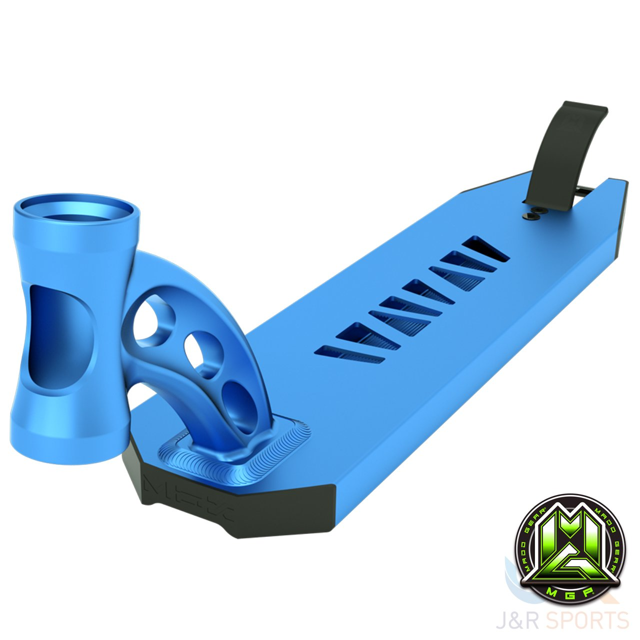Unbekannt MGP VX8  Extreme Scooter Deck nur, Electric Blue MGP/207-087