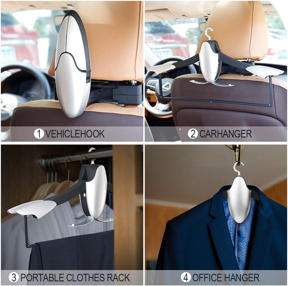 Pink Vehicle Universal Car Back Seat Headrest Hanger Holder Hook for Bag Purse S