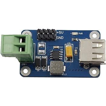 Dual USB 9V 12V 24V to 5V 3A DC-DC Buck Step down Power Supply Converter Module