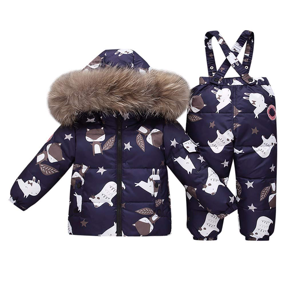 Baby Boys' Perfect Heavyweight Jacket Coat by Yuege Baby Clothes
