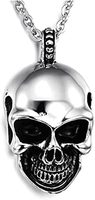 pendentif collier tête de mort 11
