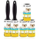 Lint Rollers for Pet Hair Extra Sticky Remover for Couch, Clothes Furniture and Carpet. Lint Brush Dog Hair Remover Cat…