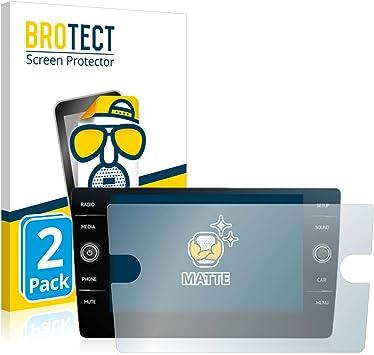 BROTECT 2X Entspiegelungs-Schutzfolie kompatibel mit Mitsubishi ASX MY18 Infotainment System 7 Matt Anti-Reflex Anti-Fingerprint