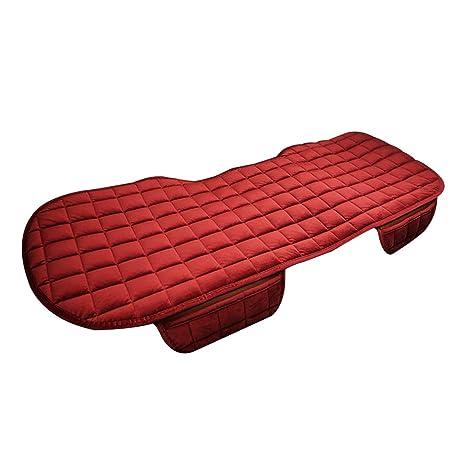 Cojín para asiento de coche, suave y esponjoso para invierno ...