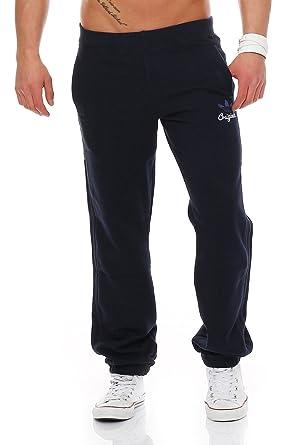 adidas Pantalón Original Azul Marino L: Amazon.es: Ropa y accesorios