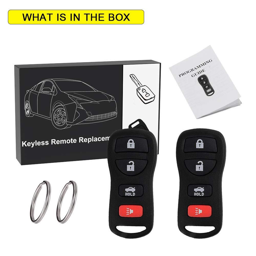 Amazon.com: Llavero de auto con control remoto para entrada ...