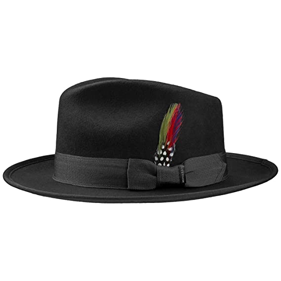 Stetson Virgi Wool Felt Hat Fedora  Amazon.co.uk  Clothing b3bb42d7627