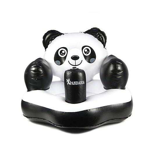 TENGGO Panda Inflable Flotador Piscina Agua Balsa Bebé ...