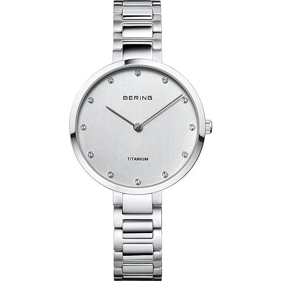 Bering Mujer Reloj De Pulsera Analógico Cuarzo Titan 11334 – 770
