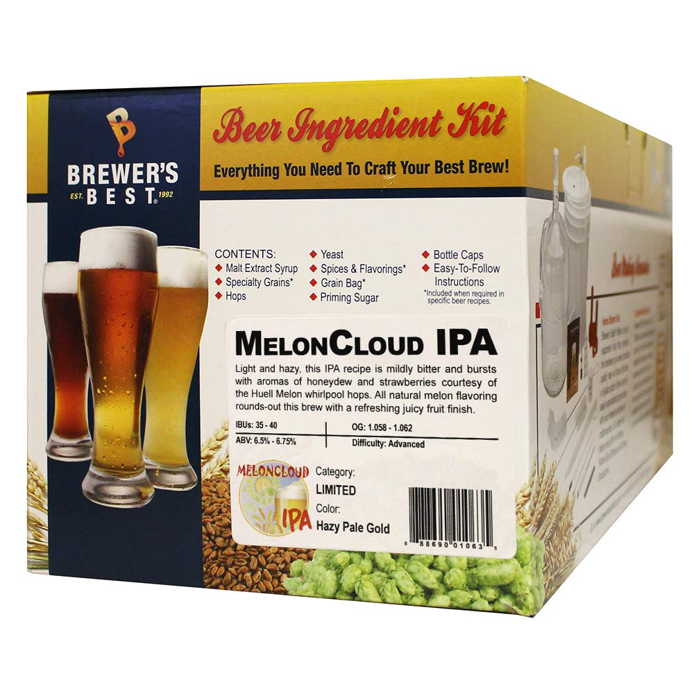 Brewer's Best MelonCloud IPA 5 gallon Beer Making Ingredient Kit by Brewer's Best