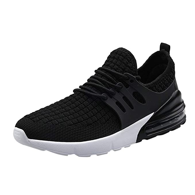 DondPO Running Shoes Fshion Mesh Breathable Outdoor Sneakers Lightweight Athletic Tennis Sport Shoe for Men