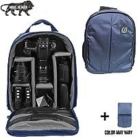 Brain Freezer Lightweight Camera Backpack Bag for DSLR/SLR Camera Lens Dark Blue