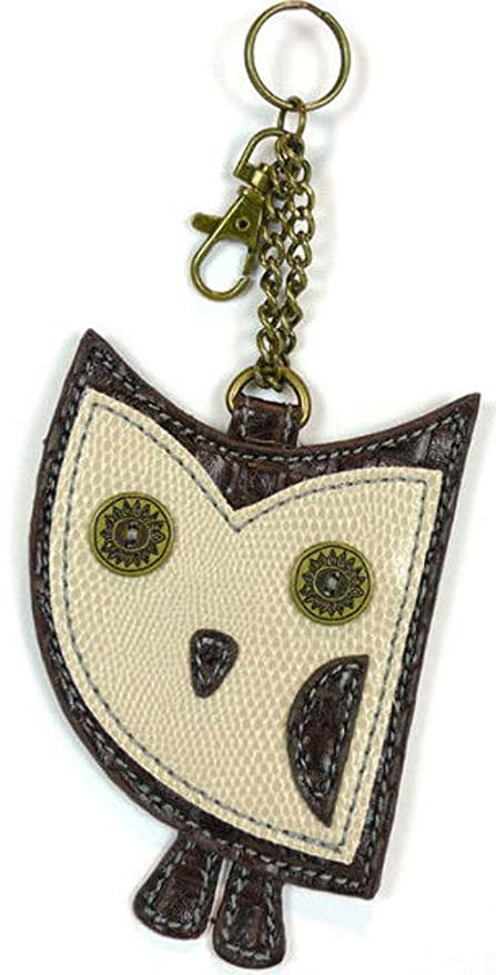 Amazon.com: Chala cartera – Llavero, diseño de búhos: Home ...