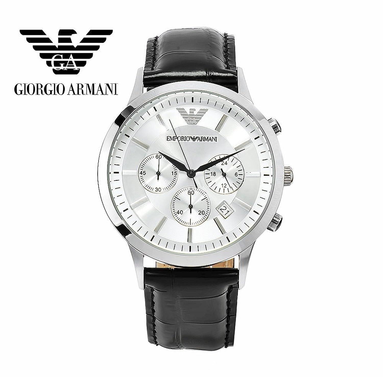 franchising Original Armani onsale AR2432 Quarz Herren Armbanduhr mit Original Box Zertifikat Gratislieferung DHL-