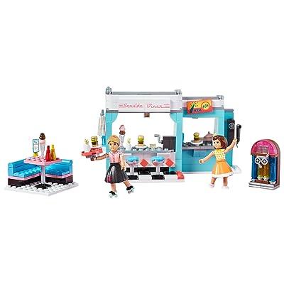 Mega Construx American Girl Maryellen's Seaside Diner Building Set: Toys & Games
