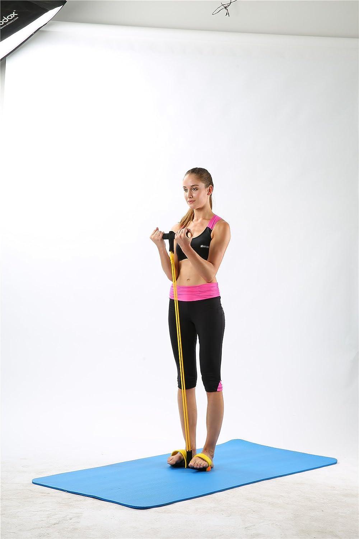 Amazon.com : Gym Yoga Fitness Gear Leg Pull Pedal Exerciser ...