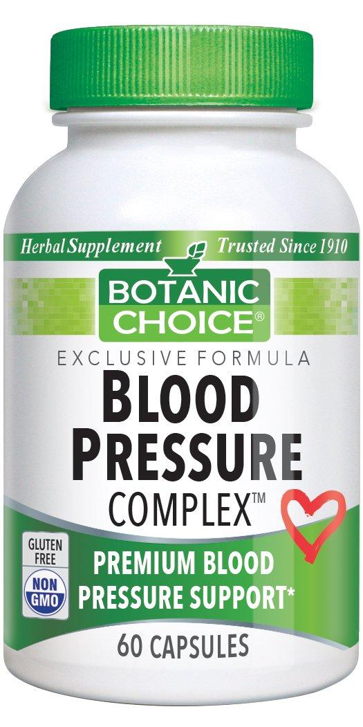 Botanic Choice Blood Pressure Complex, 60 Capsules