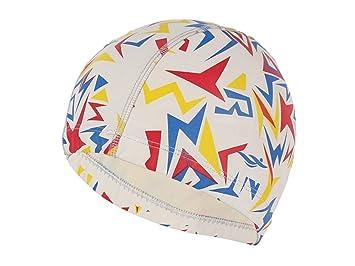 ADream Gorra de natación Sombreros de natación de la Tela de la PU Cascos de natación