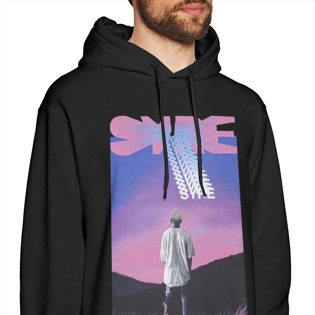Mens Syre Jaden Smith Long Sleeve Hooded Sweat Shirt Pullover
