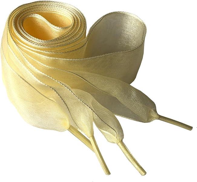 Goodnews 4 centimetri larghi lacci scarpe piatti tulle nastro lacci in  pizzo nastro lacci lacci delle scarpe per scarpe sportive Sneakers 140CM acc10a300f6