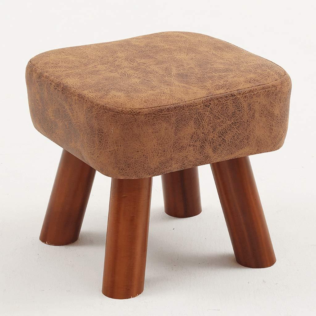 Panca per per per scarpe quadrata in legno massello Panca ...