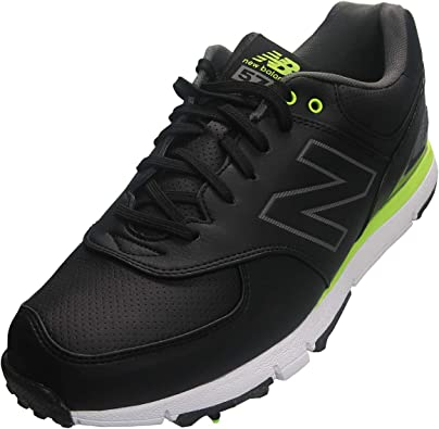 New Balance Nbg 574 Classic 15 Zapatos De Golf Color Negro Y Verde Shoes