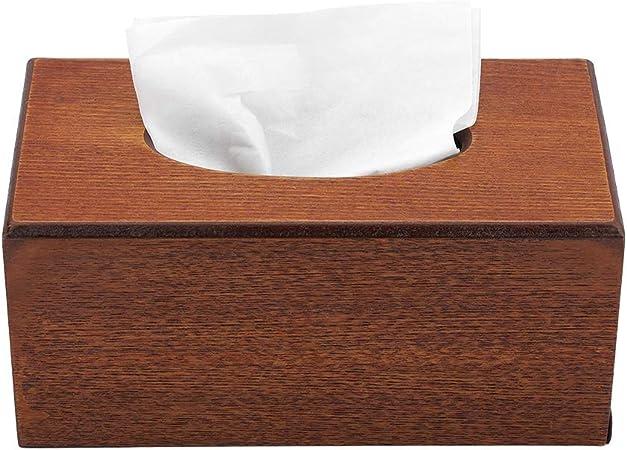 Caja de pañuelos, Organizador de papel de pañuelos Estante para baño Encimeras de tocador para hogar(Light): Amazon.es: Hogar