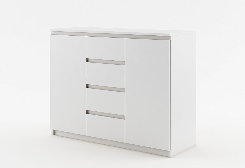 Kommode Sideboard ID-04 IDEA Sideboard 5 Farbvarianten (weiß matt)