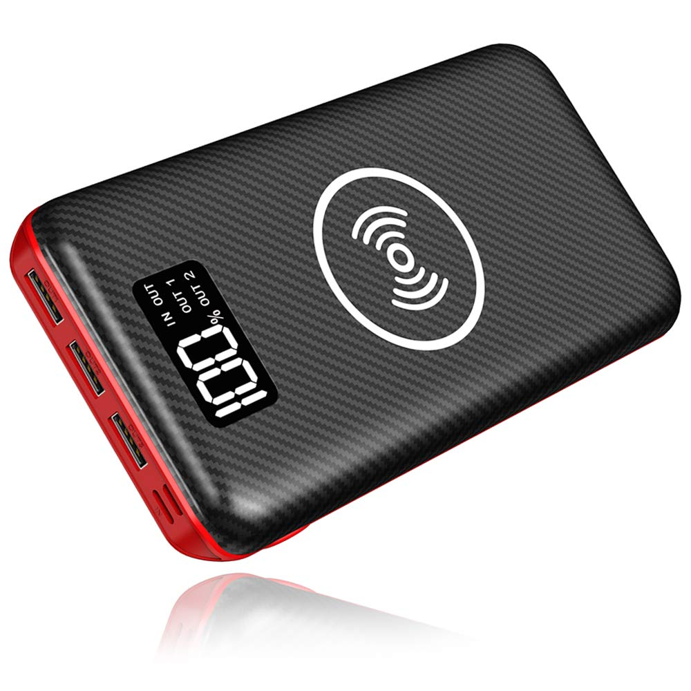 Wireless Portable Charger 24000mAh Power Bank
