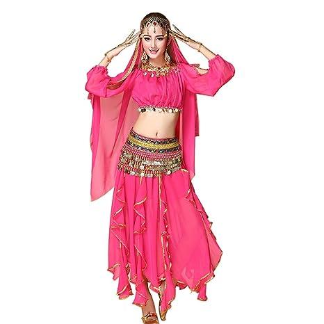 Gtagain Disfraces Mujeres Danza Traje - Danza del Vientre Ropa ...