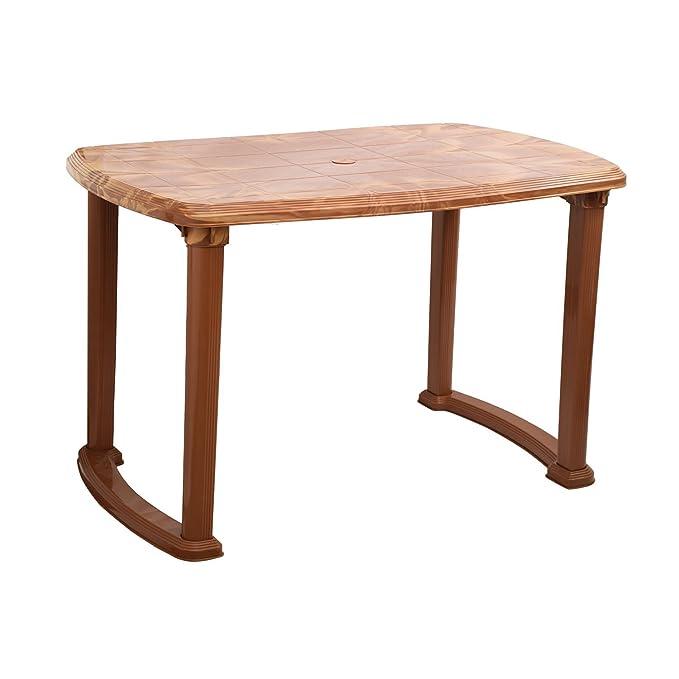 Cello Senator Four Seat Dining Table Sandalwood Brown Amazon In Home Kitchen
