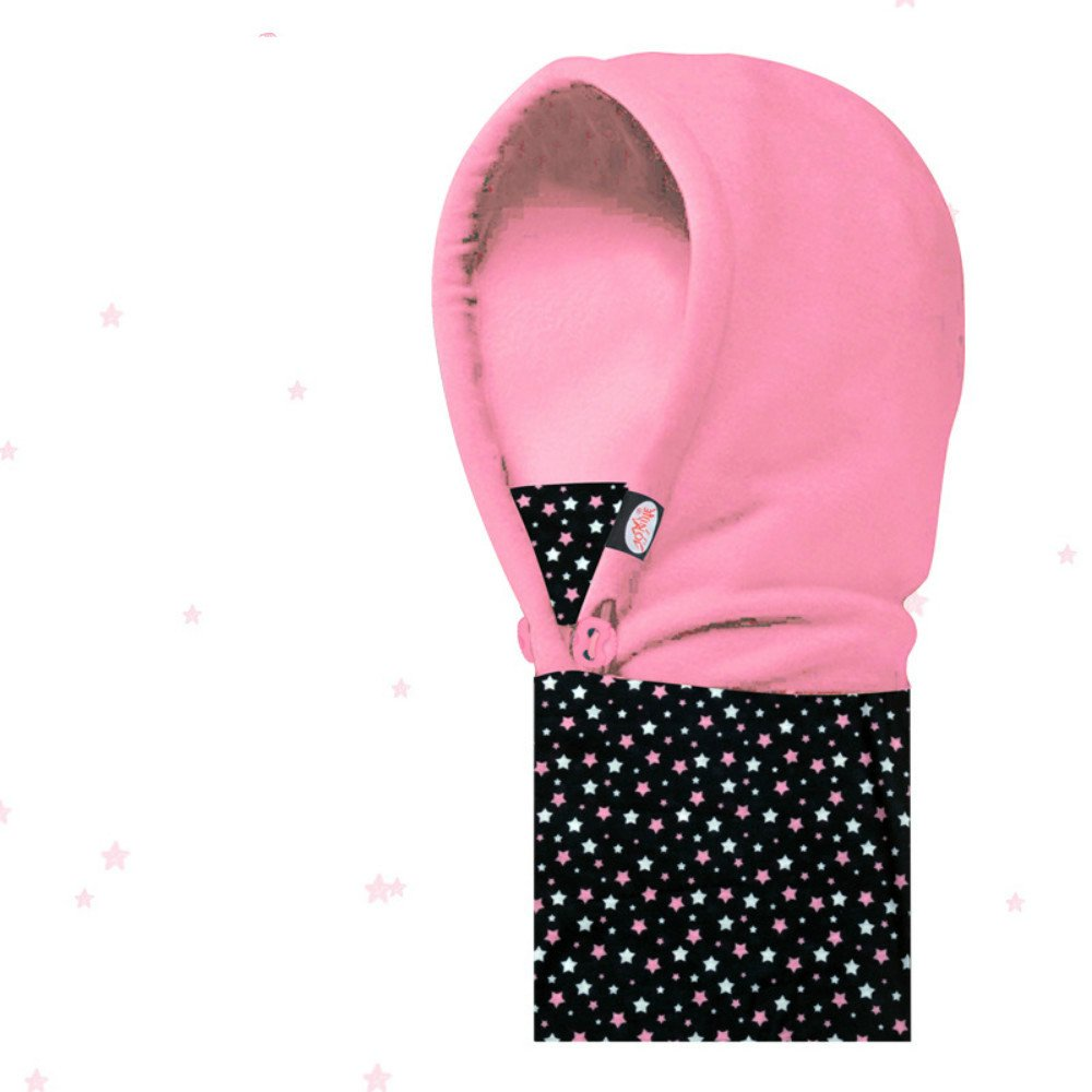 SZHOWORLD Winter Outdoor Snowboarding Cycling Anti-Cold Windproof Thicken Fleece Face Cover Hood Mask Balaclava (Adult's Black)