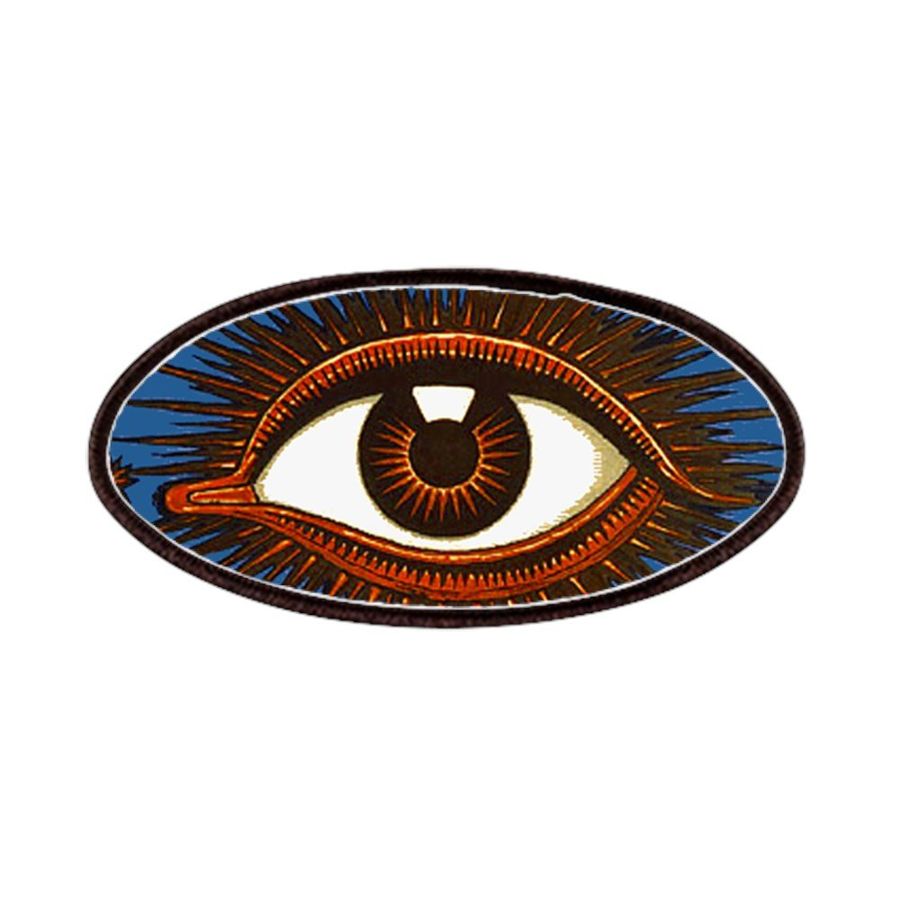 4x2in Printed Novelty Applique Patch CafePress Eye Eyeball Patch