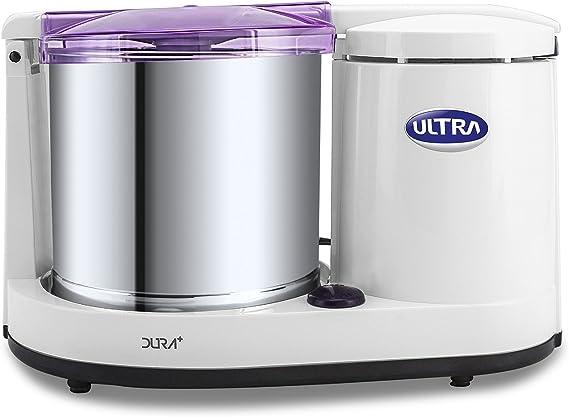 Elgi Ultra Dura Top 1.25L FOOD Wet Grinder w//Atta Kneader 110-Volt Stone Mill
