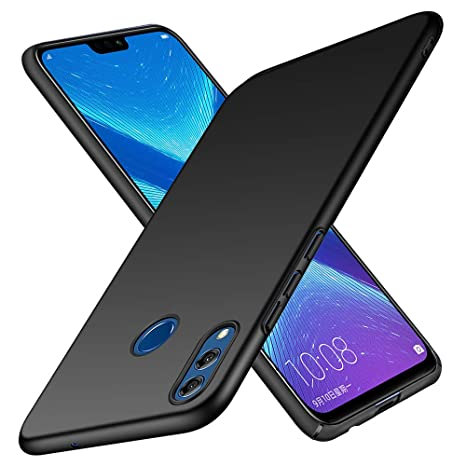 Funda Honor 8X TopACE Hard Cover Caso para Honor 8X (Negro)