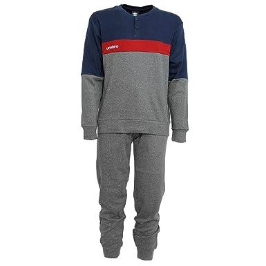 Umbro - Pijama - para Hombre Gris M: Amazon.es: Ropa y accesorios