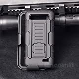 For ZTE Speed/Maven/Overture2/Fanfare Case, Cocomii Robot Armor NEW [Heavy Duty] Premium Belt Clip Holster Kickstand Shockproof Bumper [Military Defender] Full Body Cover N9130 Z971 Z792 (Black)